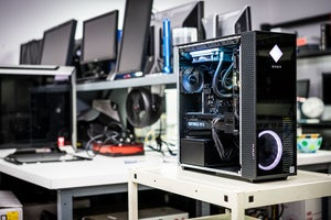 HP Omen 30L in PCWorld lab