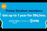 Students can pay just $1 a month for Showtime, Epix, or Lifetime with Amazon's latest streaming promotion