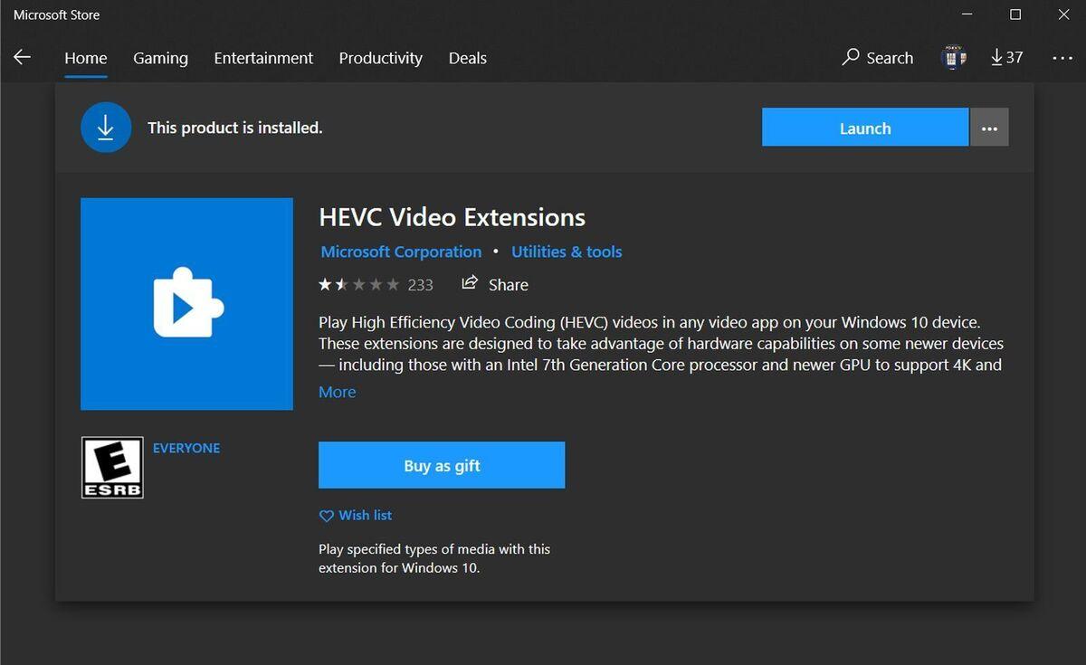 hevc extensions