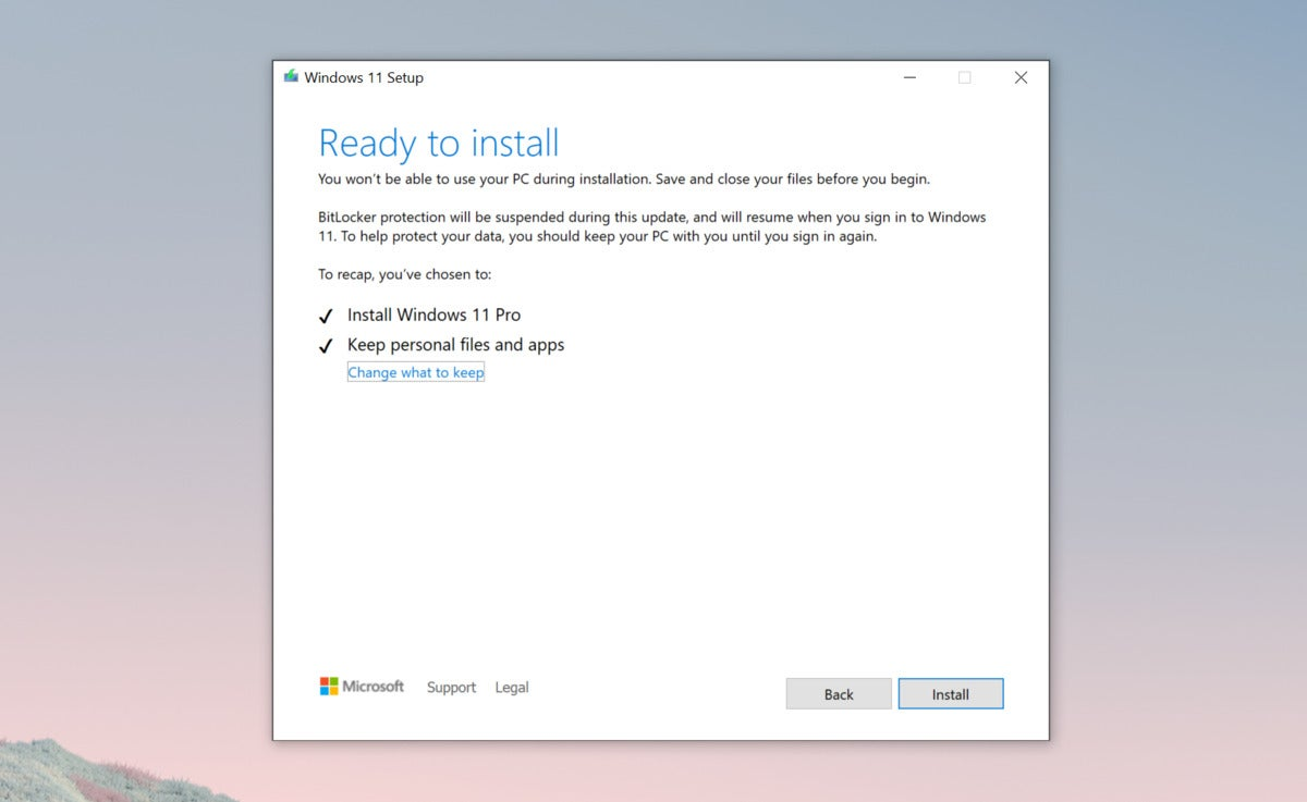 microsoft windows 11 install