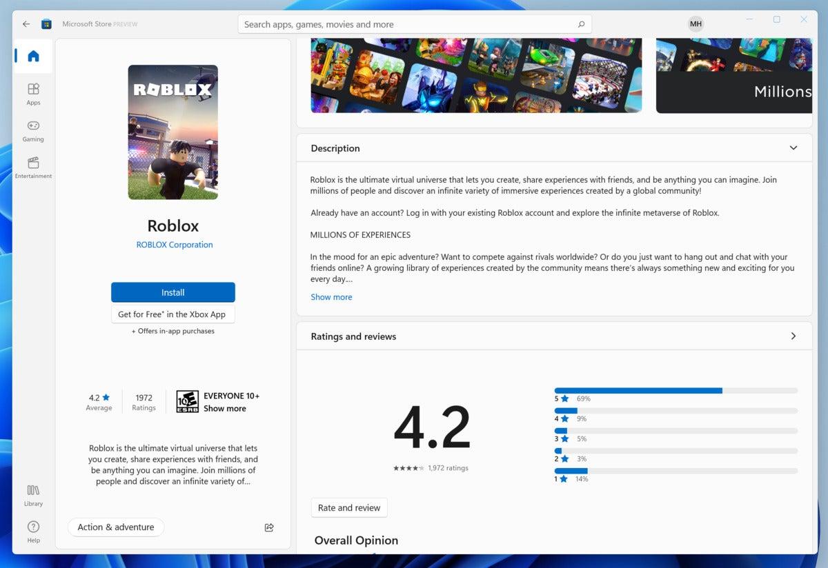 microsoft windows 11 windows store app 2 hands on