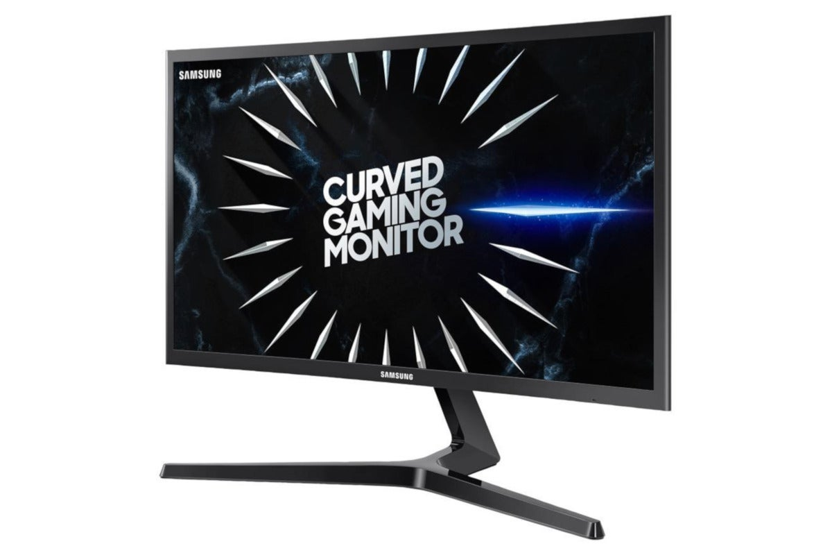 Snag a Samsung 24-inch 1080p curved FreeSync gaming monitor today for 0