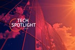Tech Spotlight   >   Cloud [IFW / Overview]   >   Clouds reflected in a towering modern skyscraper.