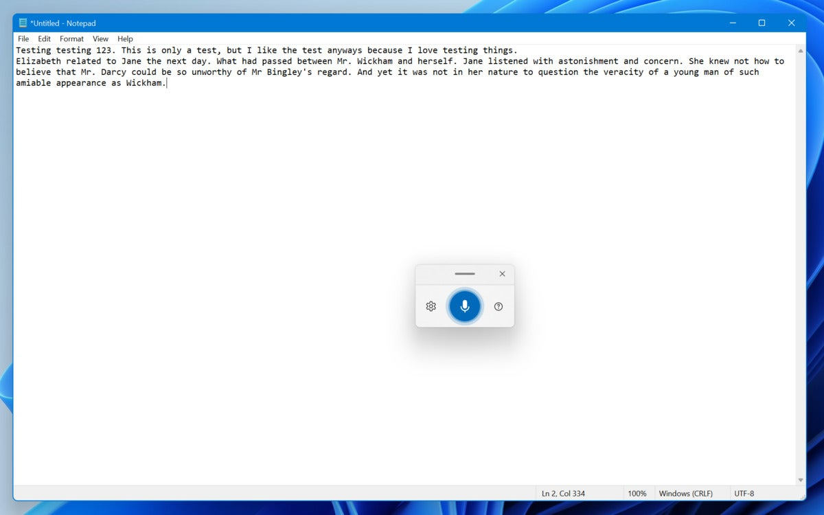 Microsoft hands on windows 11 voice typing dictation handson