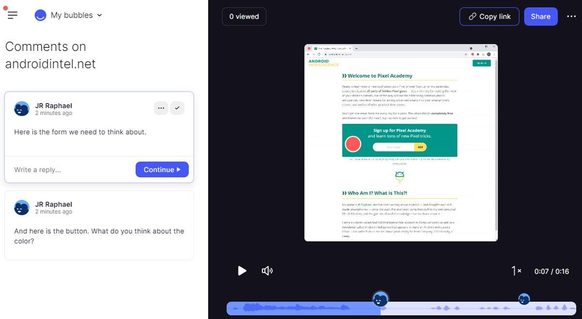 Colaboración de Chrome: Burbujas (4)