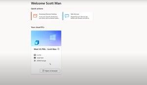 microsoft windows 365 cloud pc startup