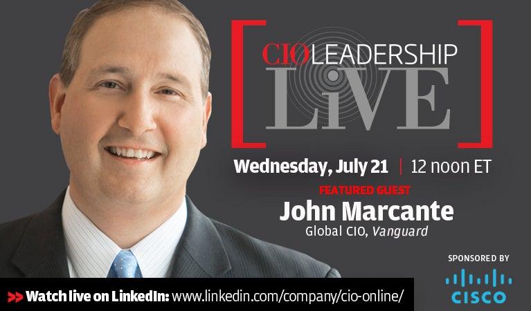 CIO Leadership Live, July 21