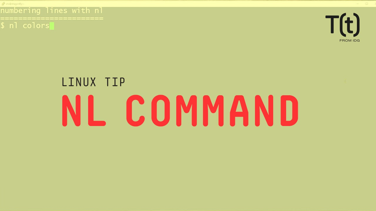 How to use the nl command: 2-Minute Linux Tips