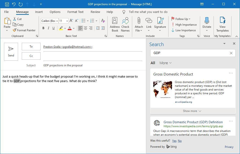 Outlook microsoft365 05 búsqueda inteligente