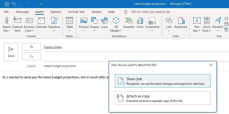 Outlook microsoft365 08 nube adjunta