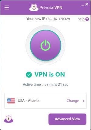 privatevpnconnected