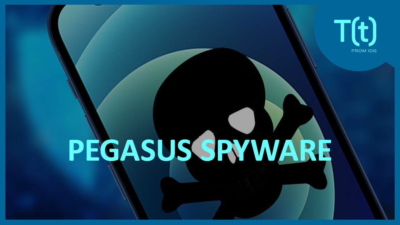 Pegasus spyware and iPhone security