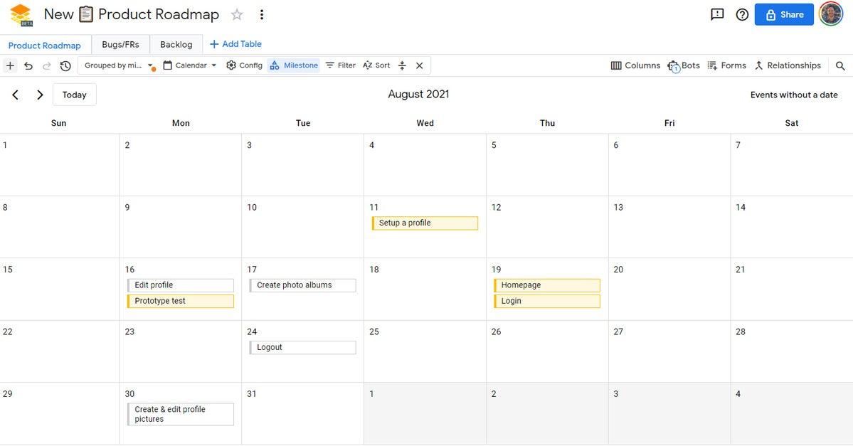 08 calendario de tablas de google