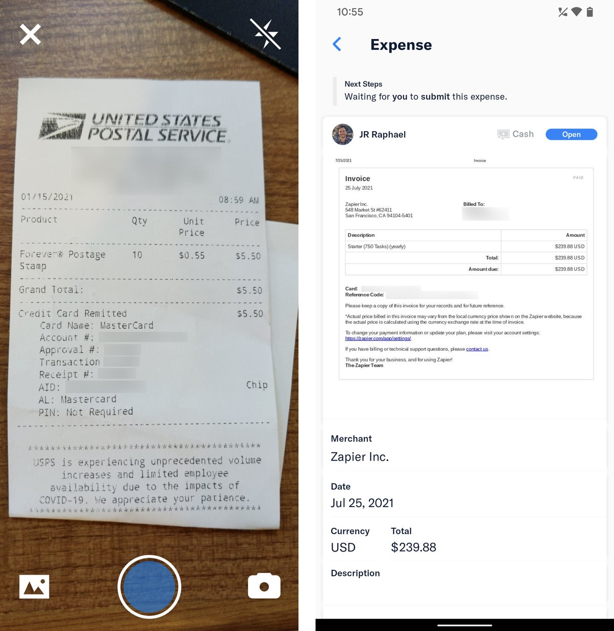 android travel apps expensify 2021