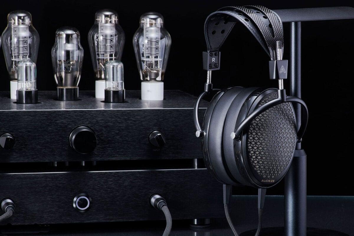 photo of Audeze debuts its CRBN electrostatic headphone image