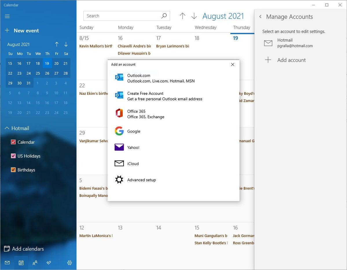 Cortana tips 5 agregar cuenta de calendario