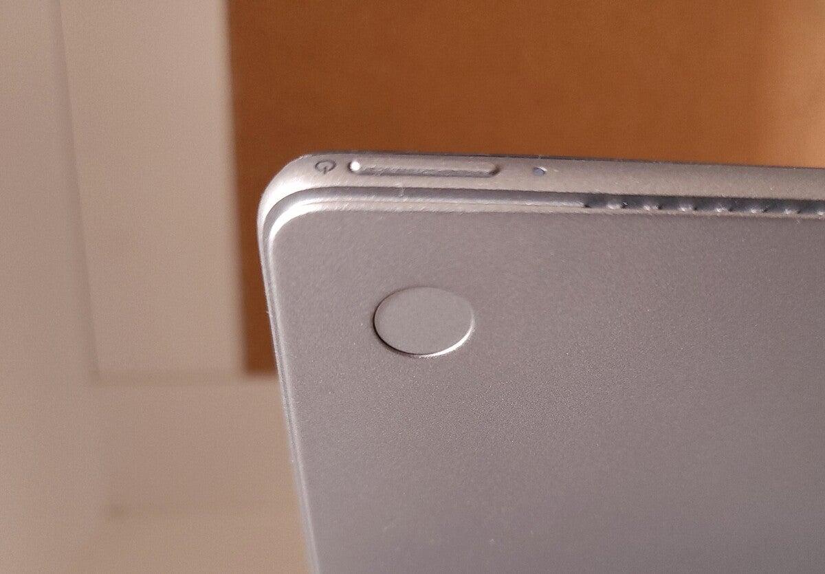 Dell Latitude 7320 Detachable fingerprint reader