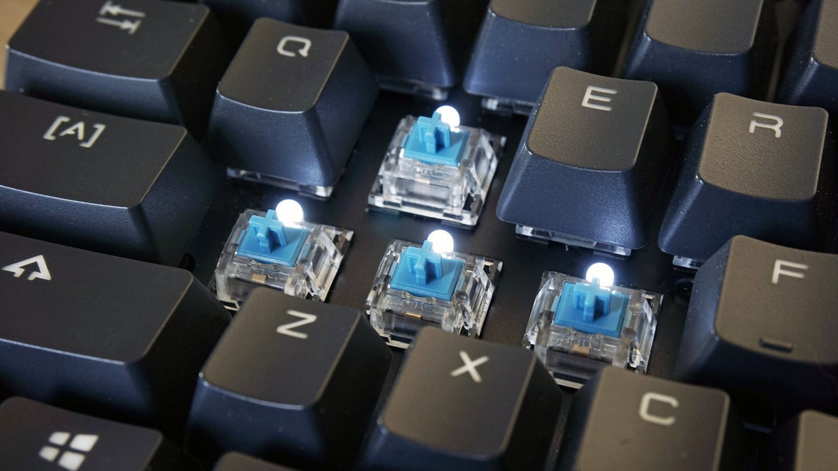 key switches and lights