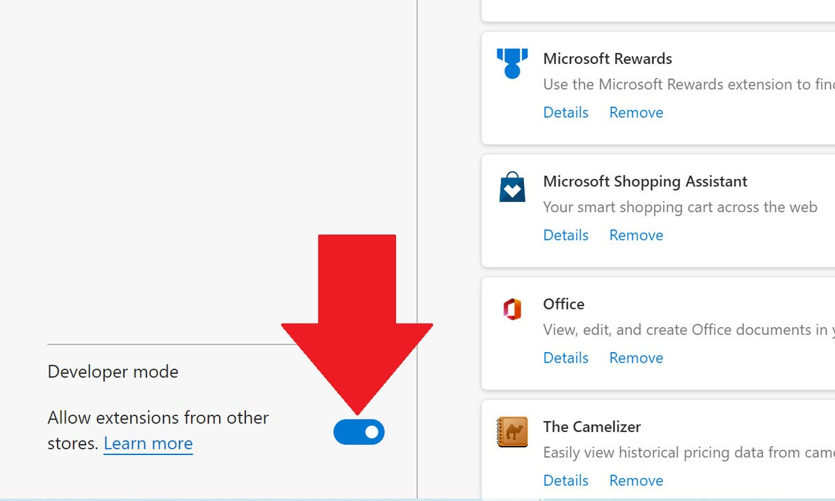 microsoft edge add ons allow third party add ons