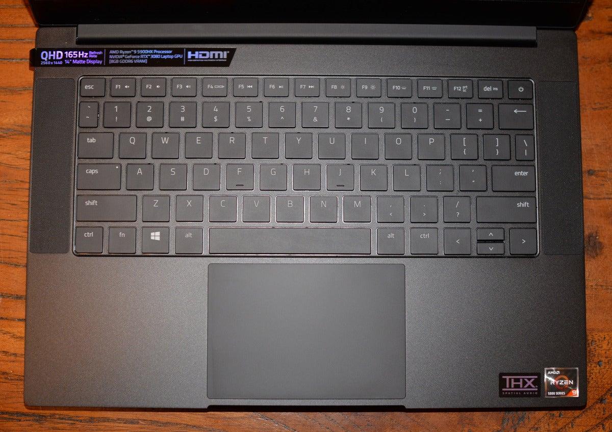 razer blade 14 keyboard deck