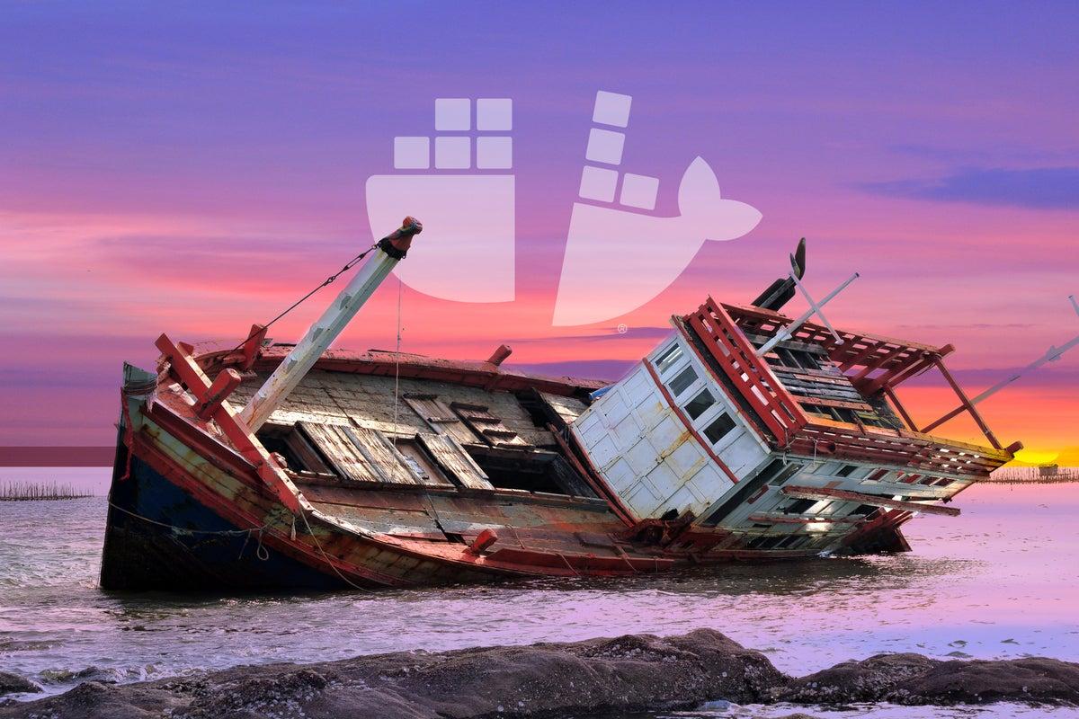 How Docker broke in half