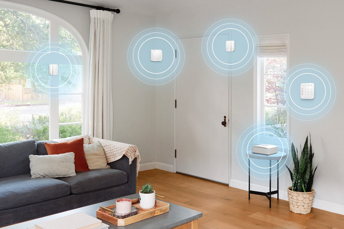 A Ring Alarm Pro home security system