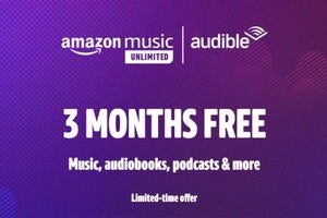 amazon music and audible three months free