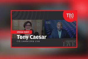 Podcast: CIO Leadership Live with Tony Caesar, MANA IT Head, Ericsson