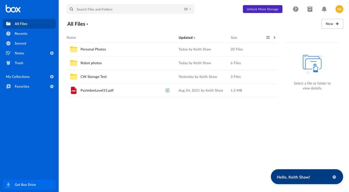 cuadro de aplicaciones para compartir archivos