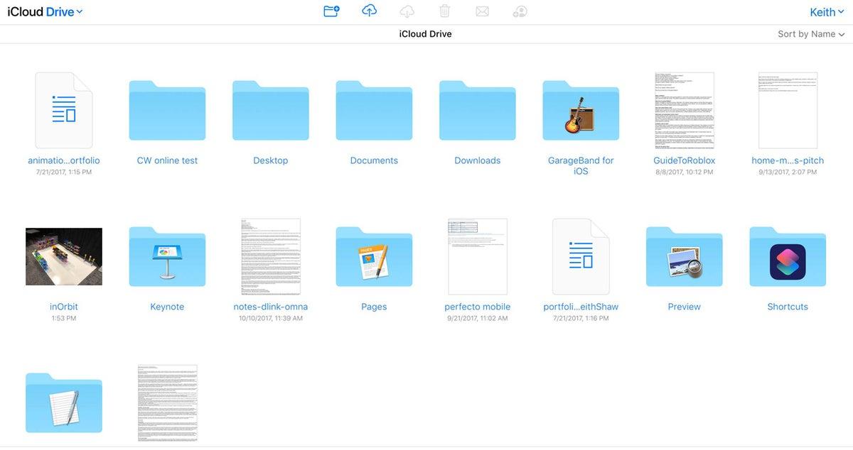 aplicaciones para compartir archivos icloud drive
