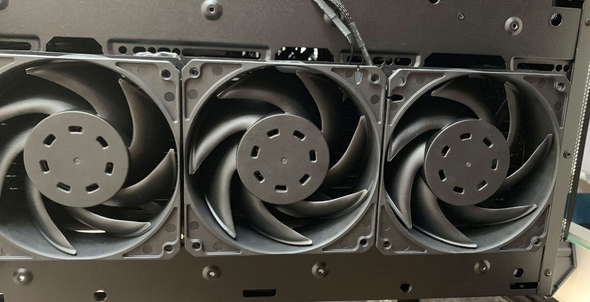 three case fans