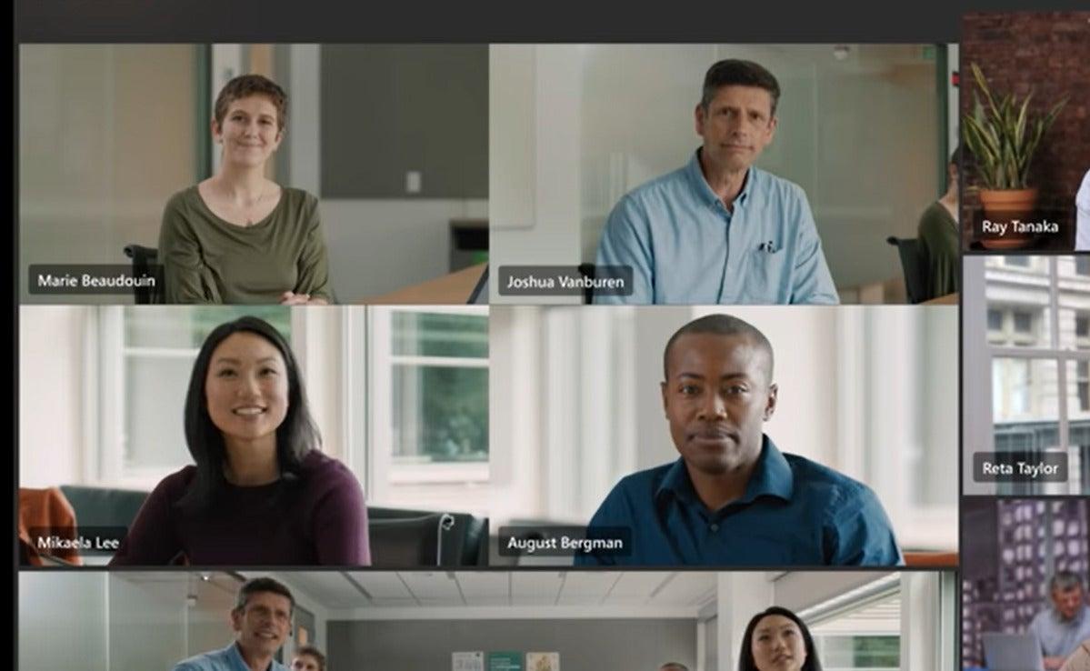 microsoft intelligent camera teams