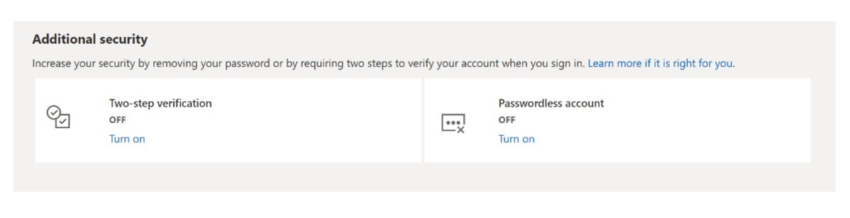 microsoft turn off passwords1