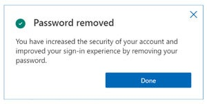 microsoft windows remove password