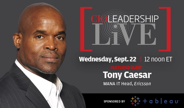 CIO Leadership Live, Sept 22