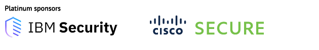 ibm security and cisco secure logos