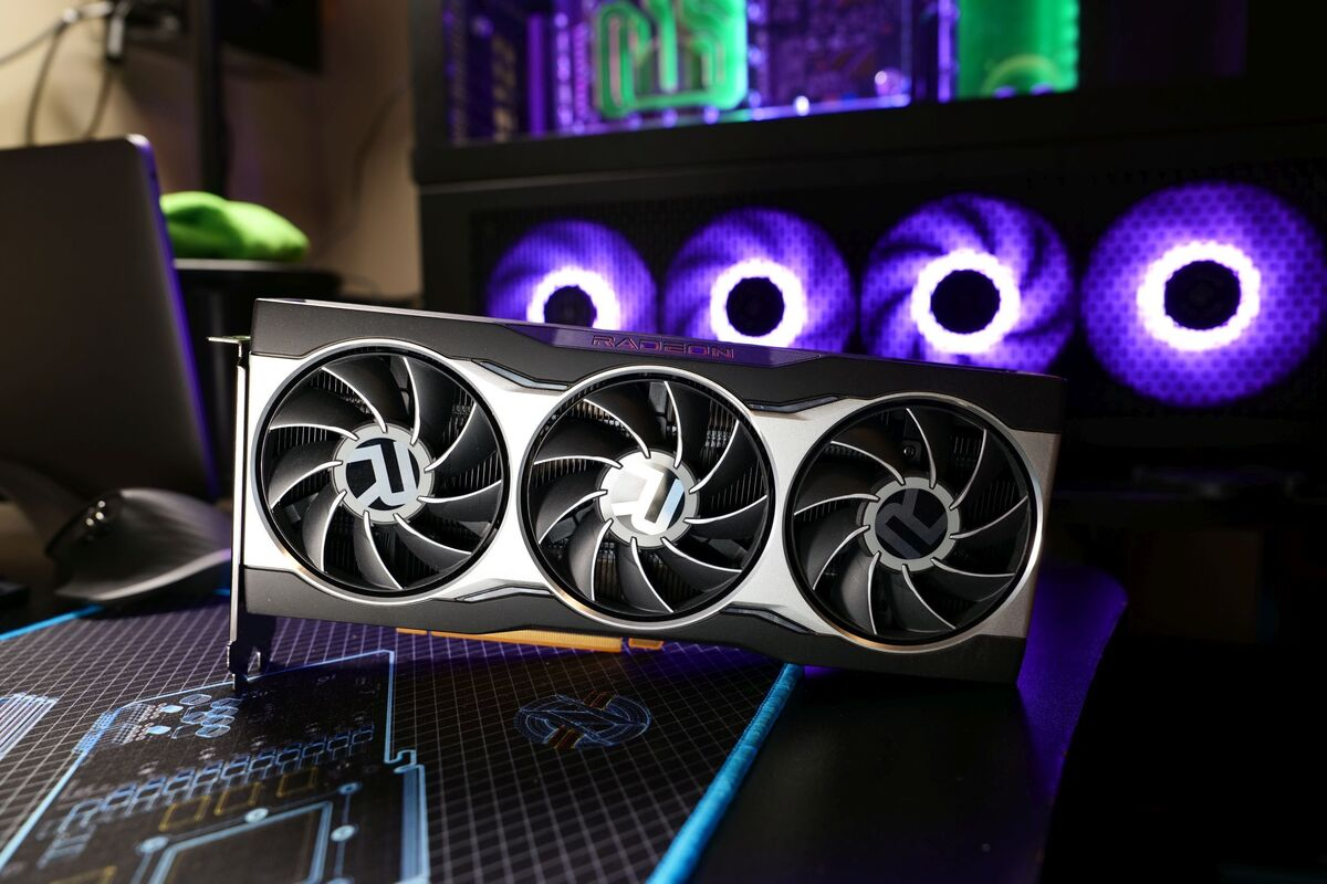 Radeon RX 6000 series graphics card
