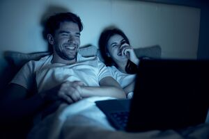 shutterstock 1568992906 watch tv on laptop