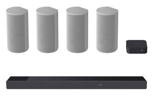Sony HT-A9 home theater audio system with optional soundbar