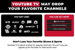 youtube tv may yank nbcu channels following dispute