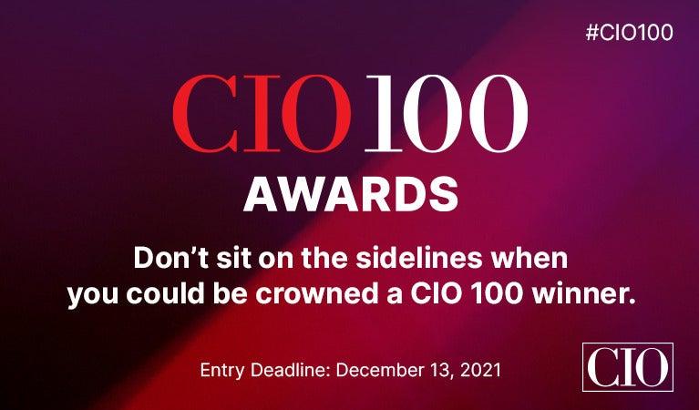 CIO100 2022 call for entries