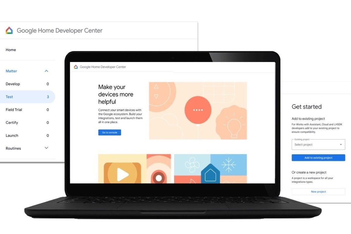 google home development center