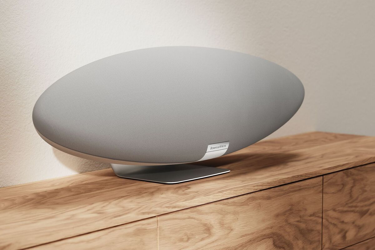 The iconic Bowers & Wilkins Zeppelin wireless speaker is back—and entirely new
