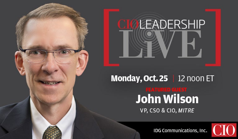 CIO Leadership Live, Oct 25