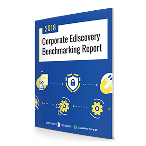 Corporate Ediscovery Benchmarking Report