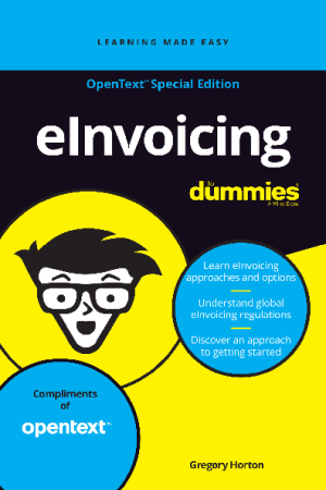 eInvoicing For Dummies