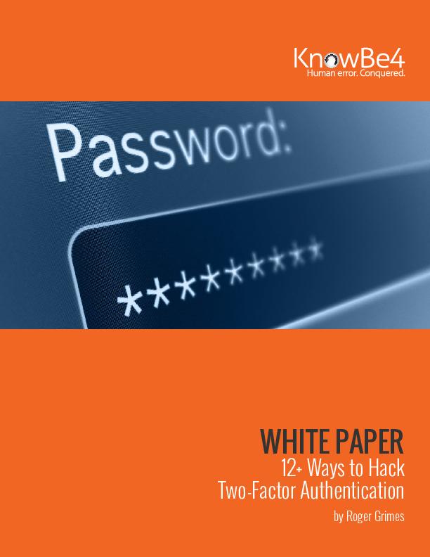 12+ Ways to Hack Two-Factor Authentication | CIO
