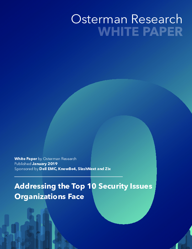 Addressing the Top 10 Security Issues Organizations Face | Computerworld