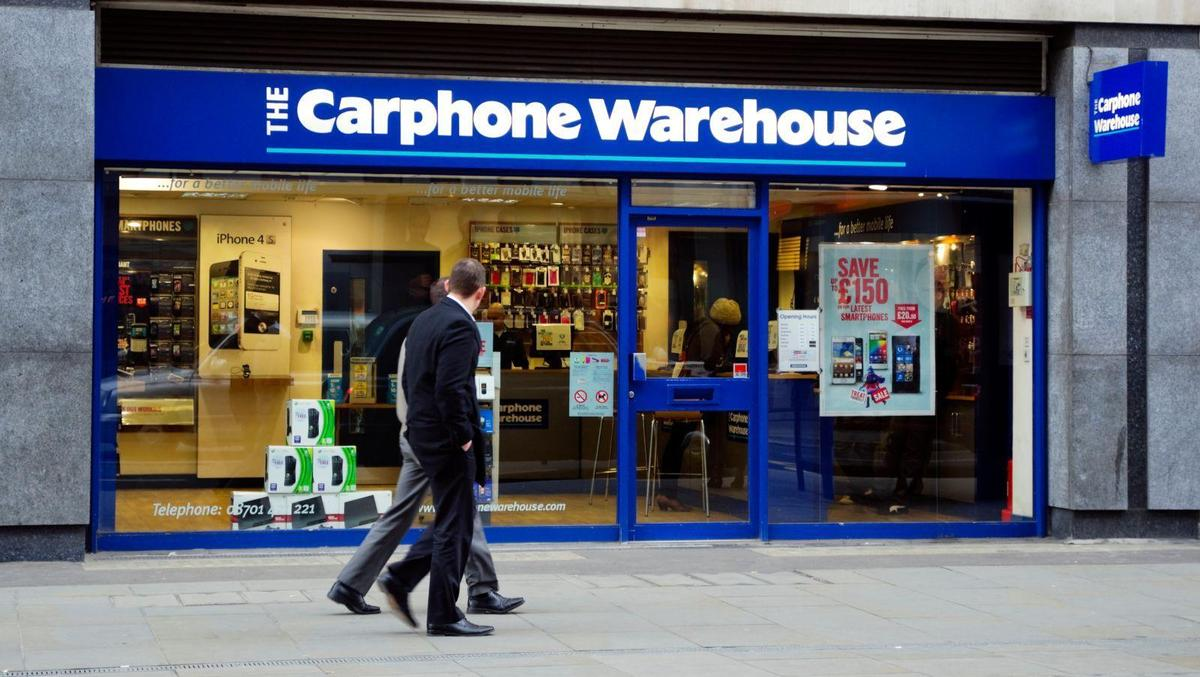 The Carphone Warehouse - fined £400,000 in January 2018