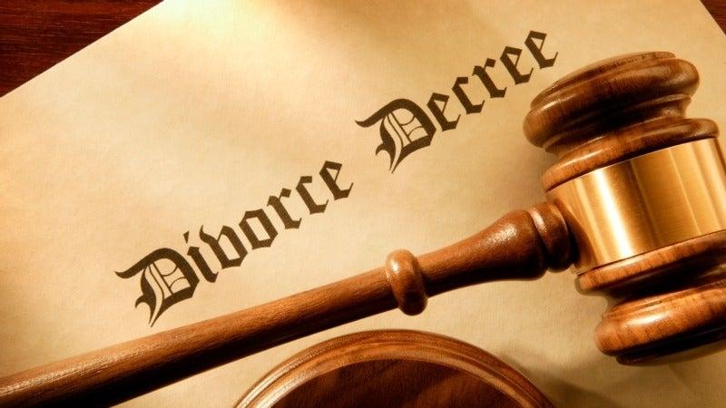 Government divorce software failure